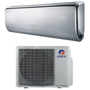 Air conditioner monosplit GREE external and internal body by Redsun