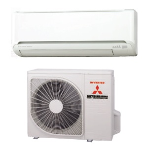 Air conditioner monosplit MITSUBISHI ELECTRIC external and internal body by Redsun