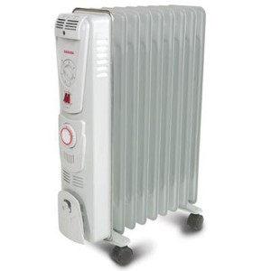Електрически маслен радиатор за отопление