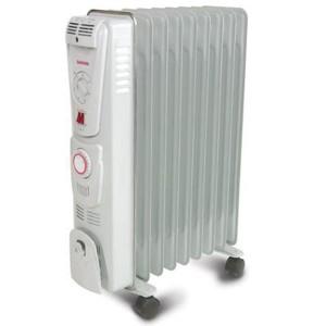 Electric oil radiator