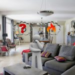 What is the best living room heating illustration?