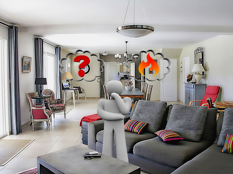 What is the best living room heating?