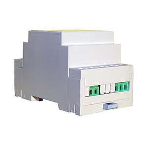 WiFi Internet programmable temperature controller main body side view