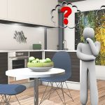 What is the most appropriate heating for kitchen - illustration