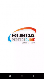 Screenshot of mobile application BURDA Perfectclime for smartphone