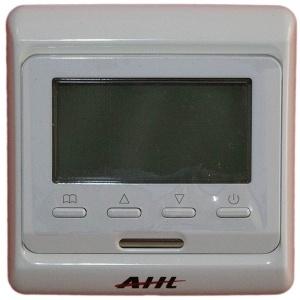 Изглед в лице на дигитален програмируем термостат AHT SK 51 за подово отопление