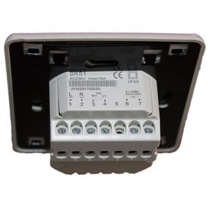 Гръб под наклон на дигитален програмируем термостат AHT SK 51 за подово отопление