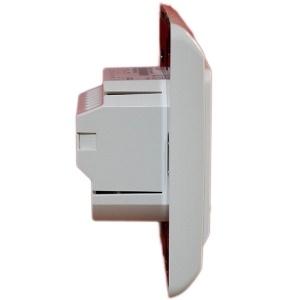 Изглед в профил на дигитален програмируем термостат AHT SK 51 за подово отопление