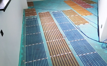 Електрическо подово отопление инсталирано в детска стая