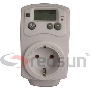 Дигитален стаен термоконтролер PLUG IN TH-810-T в профил (лице)